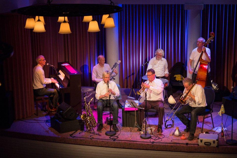 Jazzclub Hamm e. V - Hugo Jungen Four Stream New Orleans Jazzband Pressebild Foto Hugo Jungen 2 02.06.2019