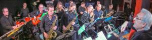 Klaus Heimanns Bigband Connection X-Mas Jazz Weihnachtskonzert Jazzclub Hamm e.V. Foto Hans Blossey