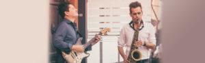 Marco Arndt-Dominik Korte Duo Jazzclub Hamm Haus an der Geinegge Fotograf Laura Schlitz