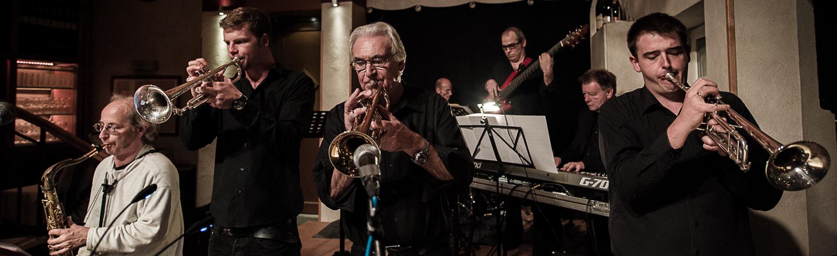 Klaus Heimann Horns Unlimited (Nachhol Konzert) Jazzclub Hamm Hoppegarden Foto Steff Apperdannier